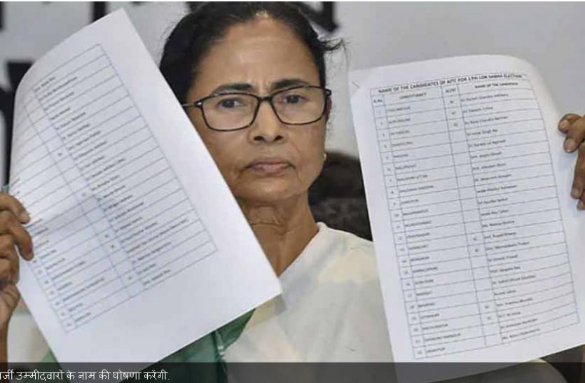 Assembly Elections: बंगाल सीएम ने 291 उम्मीदवारों की सूची जारी की, नंदीग्राम से चुनाव लड़ेंगी ममता