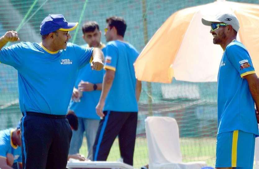 रोड सेफ्टी वल्र्ड सीरीज: सचिन, सहवाग व युवराज के चौके-छक्के देखना हो तो आज शाम पहुंचे नवा रायपुर के अंतरराष्ट्रीय क्रिकेट स्टेडियम