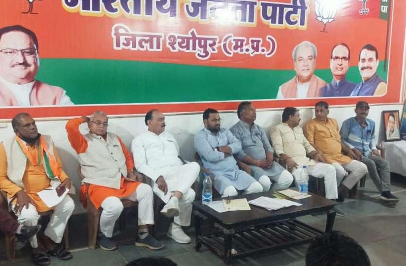 भाजपा जिलाध्यक्ष ने दी चेतावनी, बोले-कार्यकर्ताओं को धमकाने वाले सुधर जाएं