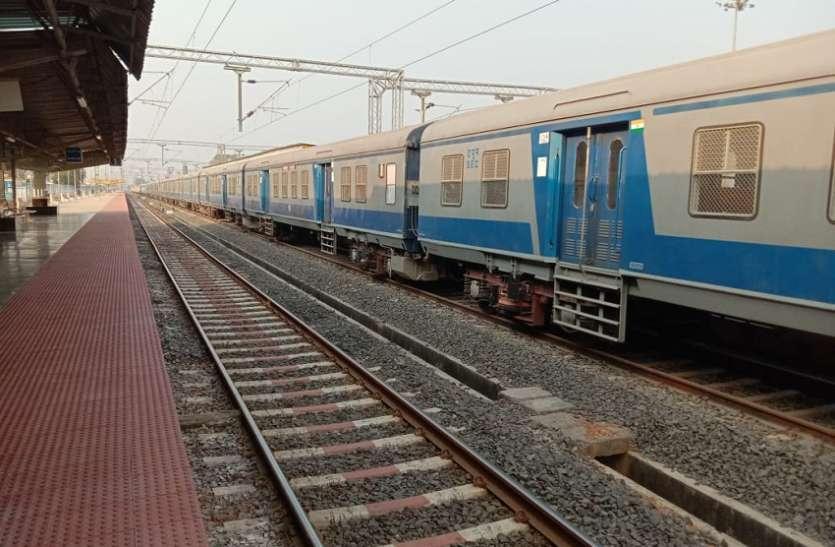 सप्ताह में तीन चलेगी जबलपुर-चांदा फोर्ट ट्रेन