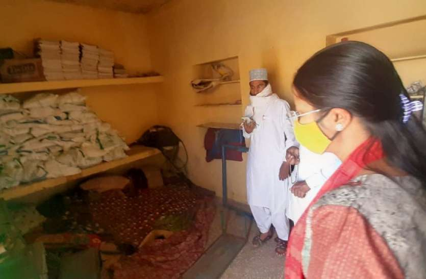 अधिकारियों का सघन निरीक्षण, विद्यालयों में खाद्यान्न की जमीनी हकीकत की पड़ताल