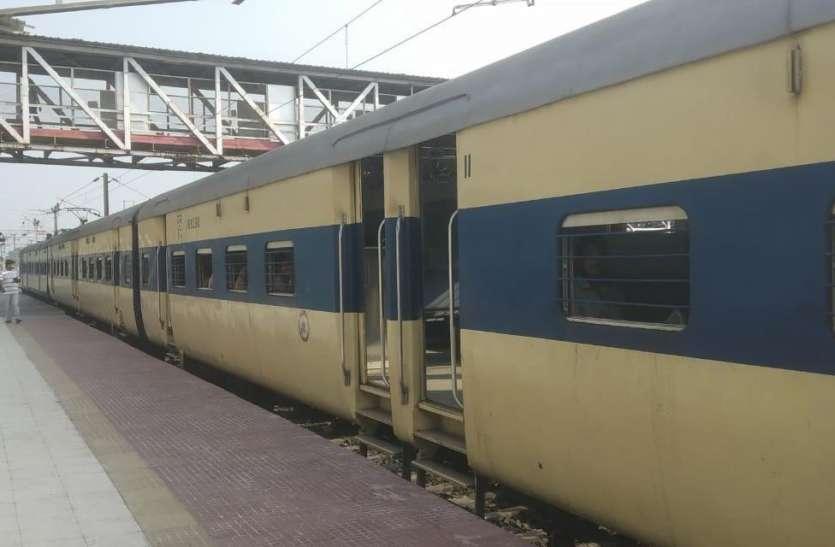 नवरात्रि पर्व : पटरी पर आज से दौड़ेगी मेला स्पेशल मेमू ट्रेन, मैहर में रुकेंगी 16 ट्रेन