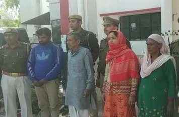 सनसनीखेज खुलासा: सौतन के साथ पति ने पत्नी को बिजली का करंट देकर मारा, फिर लगा दी आग