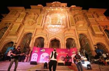 जयपुराइट्स पर चला सूफी, बॉलीवुड और राजस्थानी फोक म्यूजिक  का जादू, देखें तस्वीरें