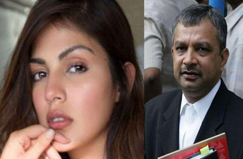 सुशांत केस में दायर हुई चार्जशीट को वकील Satish Maneshinde ने बताया फुस्सी बम, बोले-'रिया को फंसाया जा रहा है'