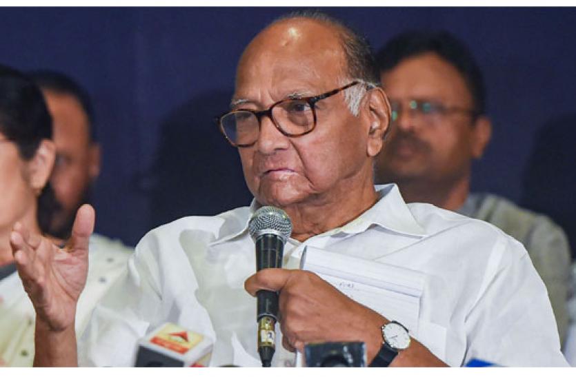 शरद पवार ने पीएम पर साधा निशाना, कहा - मोदी के पास रैली के लिए समय है, किसानों के लिए नहीं