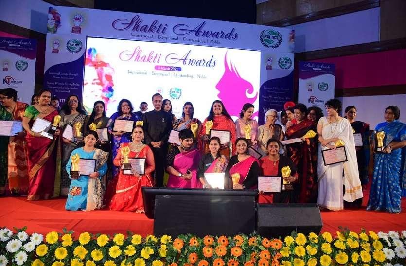 उपमुख्यमंत्री डॉ. दिनेश शर्मा ने 'शक्ति अवार्ड्स' देकर बढ़ाया महिलाओं का मान
