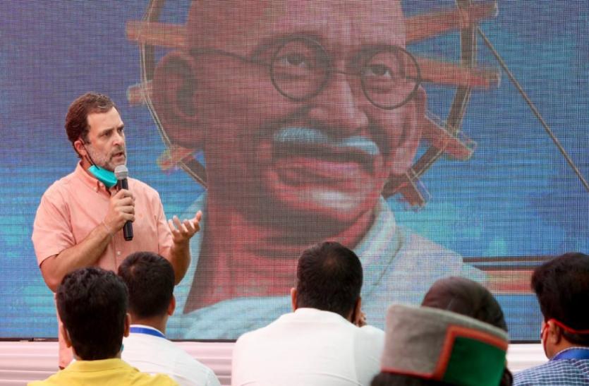 राहुल गांधी का दावा- सिंधिया कभी नहीं बनेंगे सीएम, उन्हें लौटकर वापस आना पडे़गा