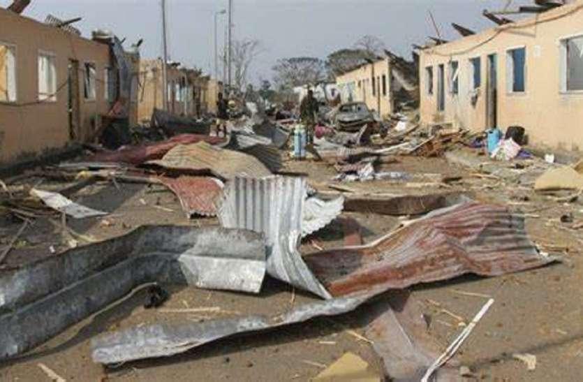 इक्वेटोरियल गिनी: बाटा शहर में हुए विस्फोट से अब तक 98 की मौत, राष्ट्रपति ने दिए जांच के आदेश
