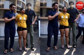 बेटी ईरा और बेटे जुनैद के साथ दोस्त जैसे दिख रहे आमिर, देखें फोटोज