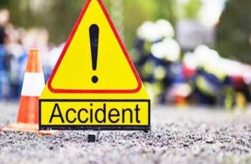 प्रतापगढ़ में भीषण हादसा, ट्रक स्कॉर्पियो की टक्कर में 3 की मौत 2 की हालत गंभीर