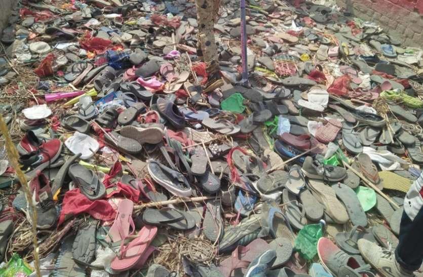 हादसा: रामघाट गंगा पुल पर कांवड़ियों में मची भगदड़ 50 से अधिक घायल