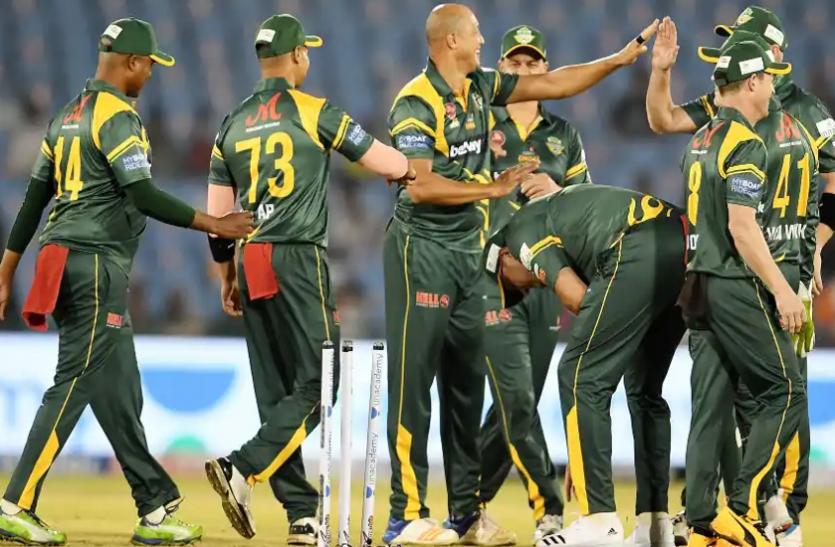 रोड सेफ्टी वर्ल्ड सीरीज : द. अफ्रीका ने इंग्लैड को 8 विकेट से हराया
