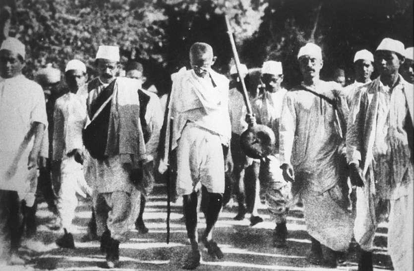 नमक सत्याग्रहः महात्मा गांधी को क्यों करना पड़ा था 'दांडी मार्च'
