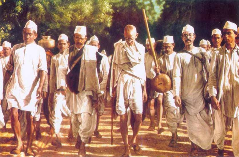 नमक सत्याग्रह 91 साल पूरे : सत्य और अहिंसा की जीत का प्रतीक 'दांडी मार्च'