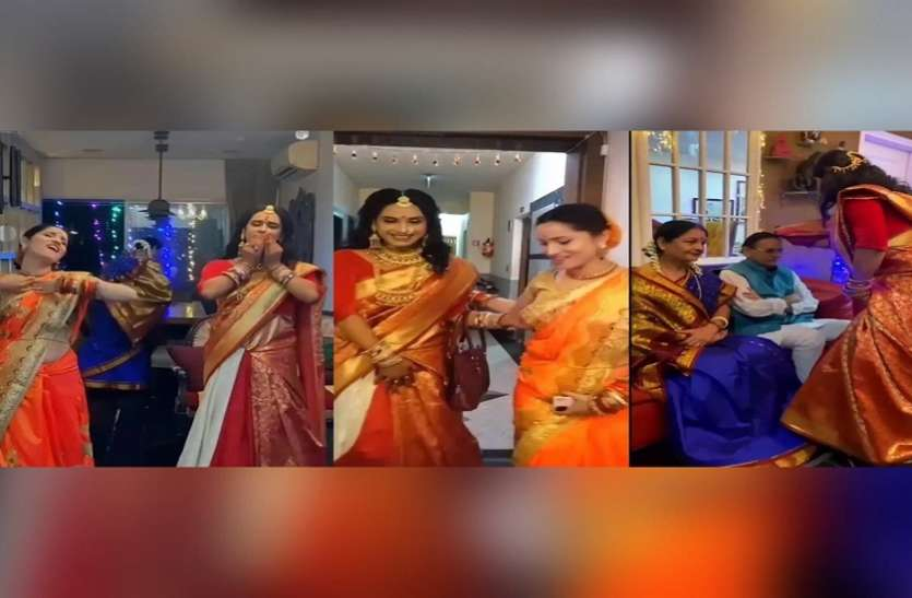 पूजा के लिए अंकिता लोखंडे के घर पहुंची किन्नर पूजा शर्मा, एक्ट्रेस ने पैर छूकर लिया आशीर्वाद