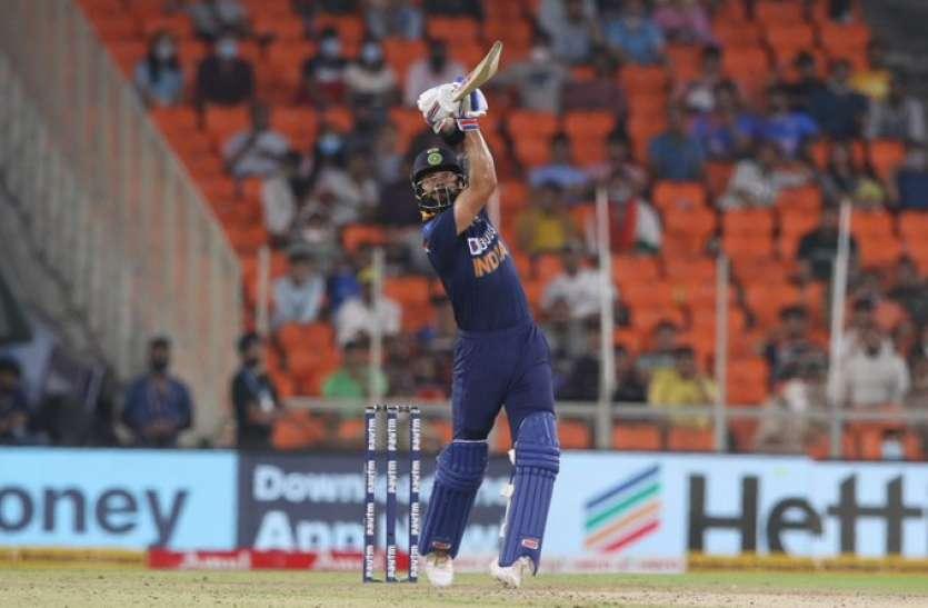 T-20: ईशान और कोहली की शानदार पारी की बदौलत भारत ने इंग्लैंड को सात विकेट से हराया