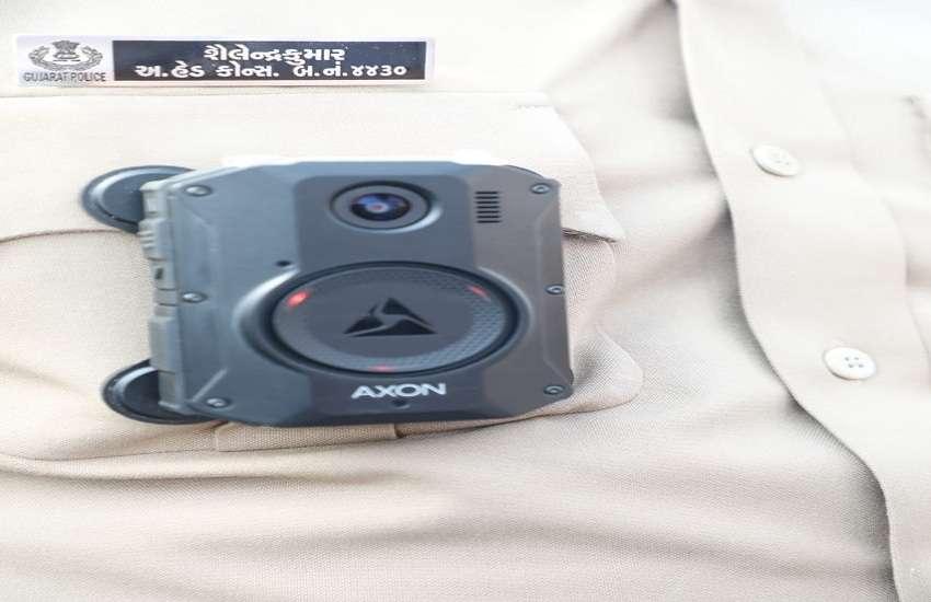 देश में बॉडीवॉर्न कैमरा का व्यापक उपयोग करने वाला गुजरात पहला राज्य: जाड़ेजा