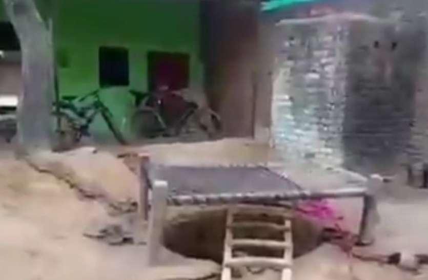 Breaking- आगरा में बच्चे को बचाने के लिए कूदे गड्ढे में, पांच की हुई मौत