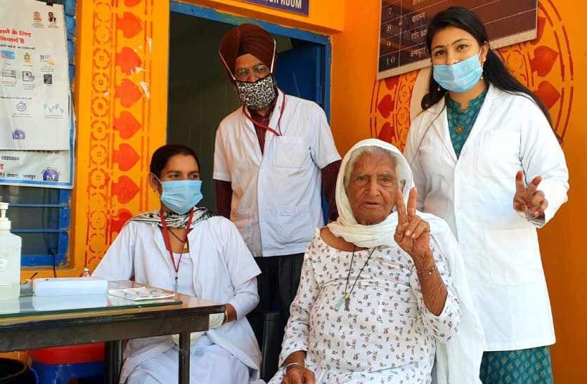 जिले में कोरोना टीकाकरण केन्द्रों की संख्या 100 की जाए