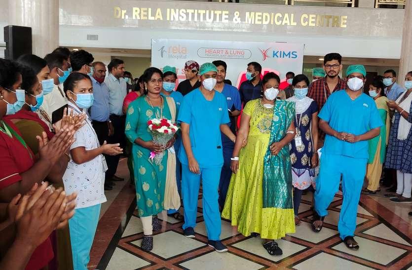 मदुरै से चेन्नई लाए गए हृदय का सफल प्रत्यारोपण