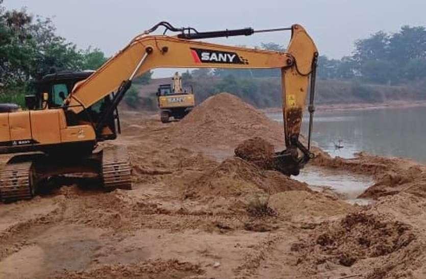 बेखौफ हैं रेत माफिया, अवैध खनन पर नहीं लग पा रहा अंकुश