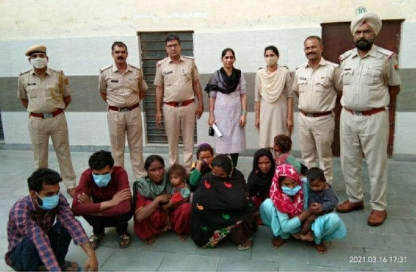 महिला गैंग ने दुकान से चोरी किए दो हजार के सूट दो सौ रुपए में बेच दिए
