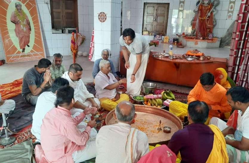 मनाया मंदिरों का पहला पाटोत्सव