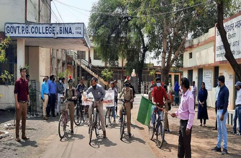 विद्यार्थियों ने जाना स्वतंत्रता संग्राम सेनानियों ने कैसे दिलाई आजादी