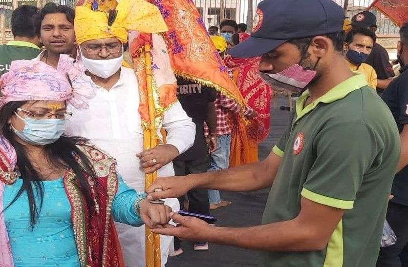 खाटूश्यामजी का लक्खी मेला शुरू, मुहर से मंदिर पहुंचे श्रद्धालु