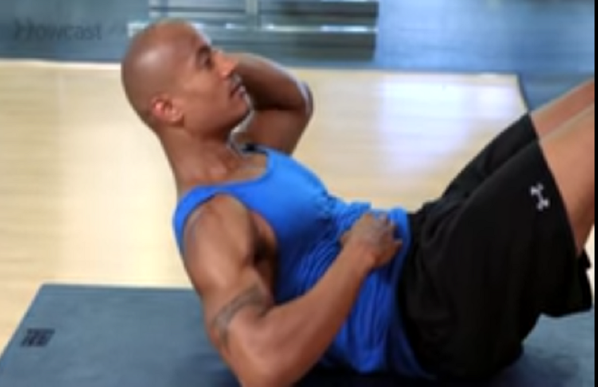 4 exercises and get 8 pack abs