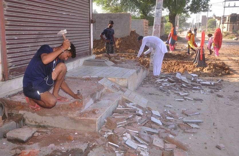 महंगाई का असर: अब सरकारी निर्माण कार्यो में भवन निर्माण सामग्री और मजदूरी में एकाएक इजाफा