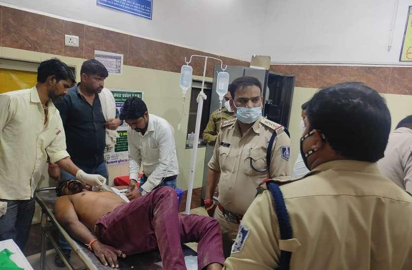 जौरा खुर्द में एक ही परिवार के दो गुटों के बीच फायरिंग, चार घायल