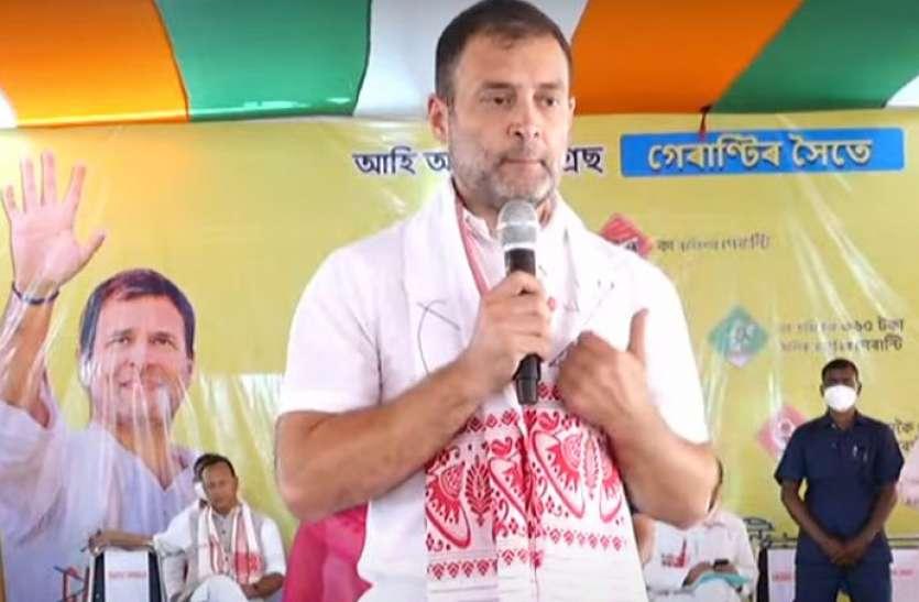 Assam Assembly Elections 2021: छात्र से राहुल ने पूछा कभी सीएम को ऐसे बात करते हुए देखा, मिला ये दिलचस्प जवाब