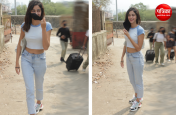 Photos: अनन्या पांडे का ये अंदाज, टी-शर्ट और डेनिम में लगीं क्यूट