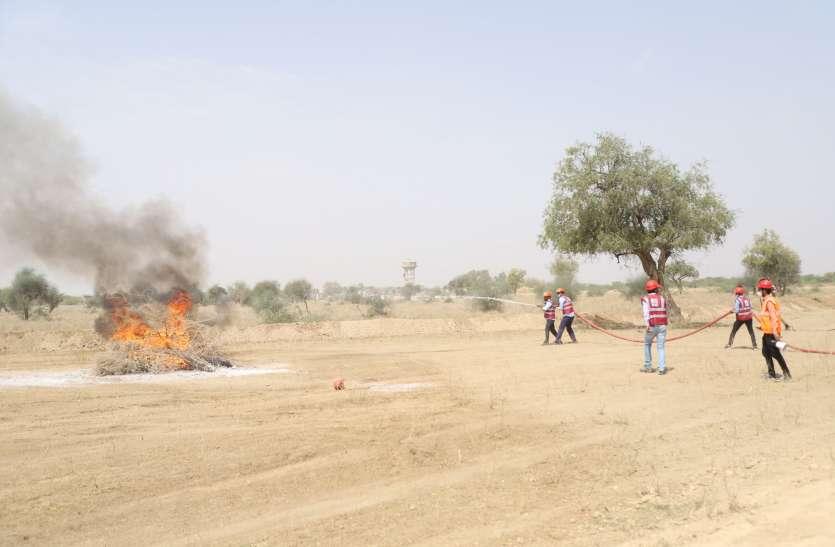Jodhupr: शिकारपुरा में तेल रिसाव से आग, दमकलें दौड़ी