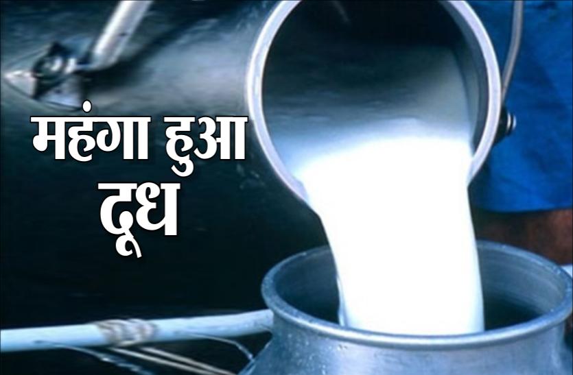 जनता पर महंगाई की एक और मार, इतने रुपए महंगा हुआ दूध