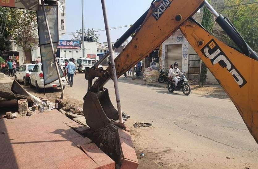जयसिंहपुरा में ढाई बीघा भूमि पर अवैध कॉलोनी बसाने का प्रयास विफल