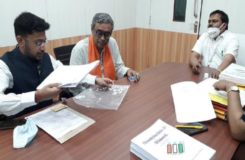 West Bengal Assembly Elections 2021: स्वपन दासगुप्ता ने BJP उम्मीदवार के तौर पर दाखिल किया नामांकन