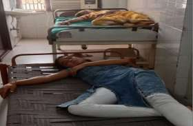 मिठाई खाने से 15 जने हुए बीमार, 7 की स्थिति गंभीर