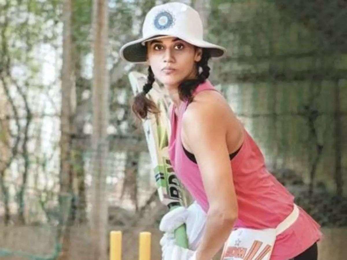 'मिताली राज जैसा दिखने का मुझ पर बहुत प्रेशर है'- तापसी पन्नू