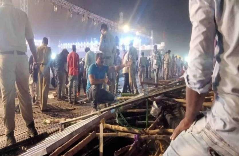 तेलंगाना: कबड्डी मैच के दौरान लकड़ी की गैलरी टूटने से 100 से अधिक दर्शक घायल