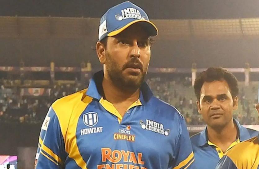 युवराज सिंह ने जीत के जश्न में नहीं की चोट की परवाह, जमकर किया डांस, वीडियो वायरल