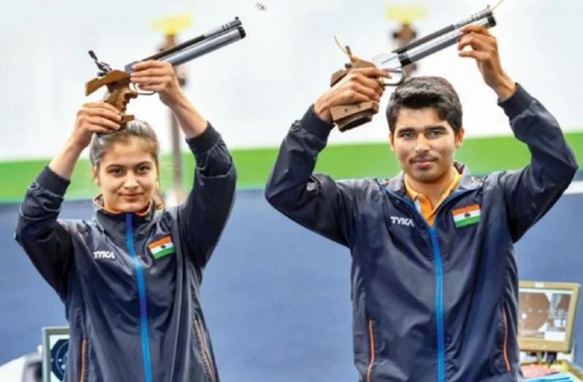 शूटिंग विश्व कप : भारत ने जीते 3 और स्वर्ण, पदकों की संख्या हुई 14