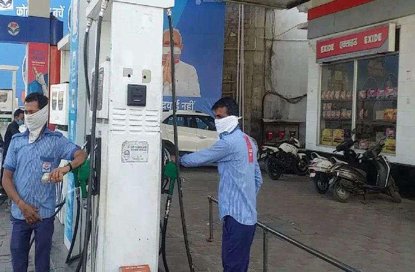दम निकाल रहा तेल, खाने का डबल सैंचुरी की ओर, पेट्रोल को 100 को पार करने की जल्दी