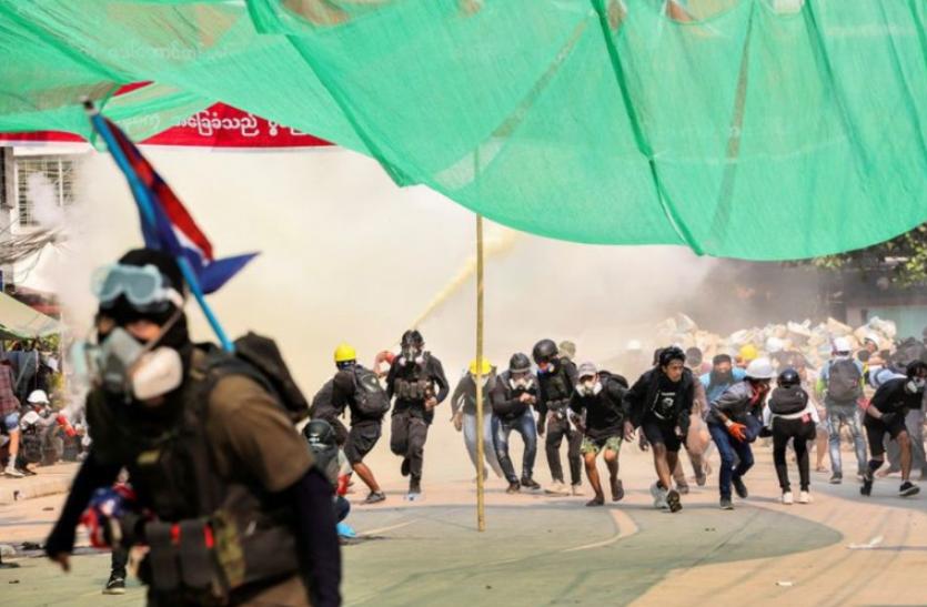 Myanmar में सैन्य शासन के खिलाफ अमरीका की बड़ी तैयारी, एमईसी और एमईएचएल पर प्रतिबंध के संकेत