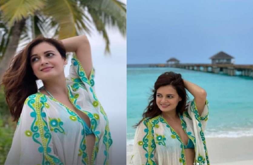 शादी के बाद दीया मिर्जा और वैभव रेखी की हनीमून की तस्वीरें आईं सामने