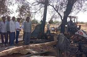 बाड़े में आग से 6 मवेशी जिंदा जले