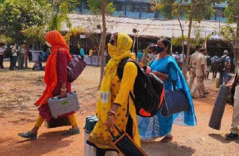 सुर्खियां बटोर रहे बंगाल में पहले चरण के मतदान का यज्ञ आज