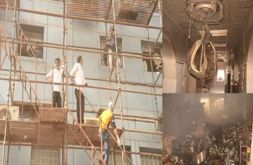 कानपुर के कार्डियोलॉजी हॉस्पिटल में आग लगने से दो की मौत, शार्ट सर्किट से हुआ था दर्दनाक हादसा